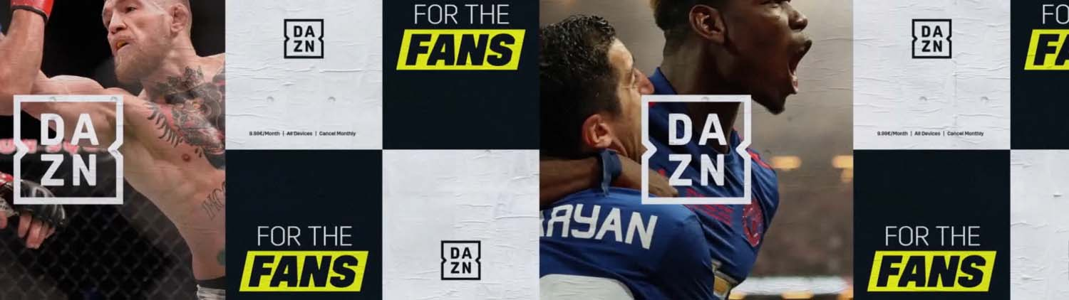 How Now Creative    DAZN | Channel Rebrand
