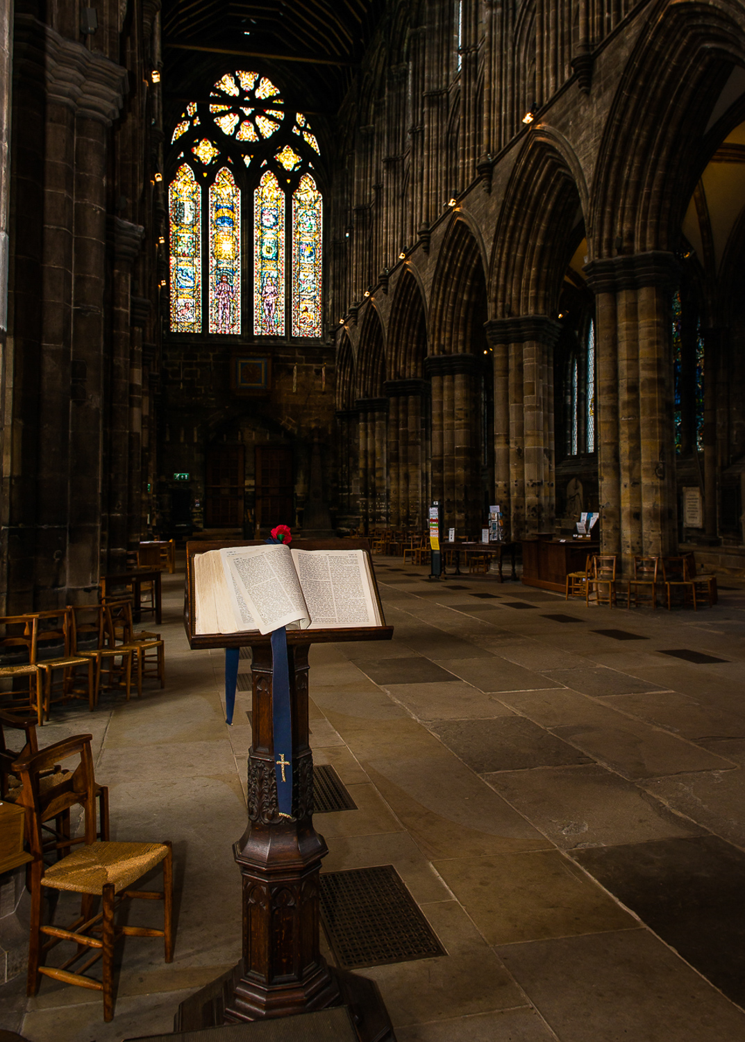 Bible, Glasgow Cathedral