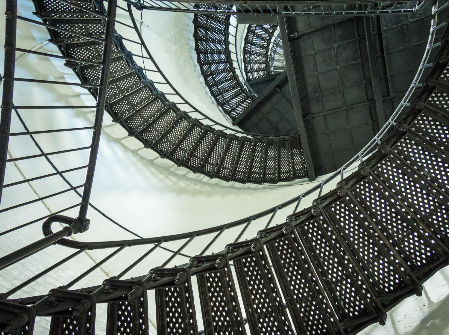Swirling Stairs