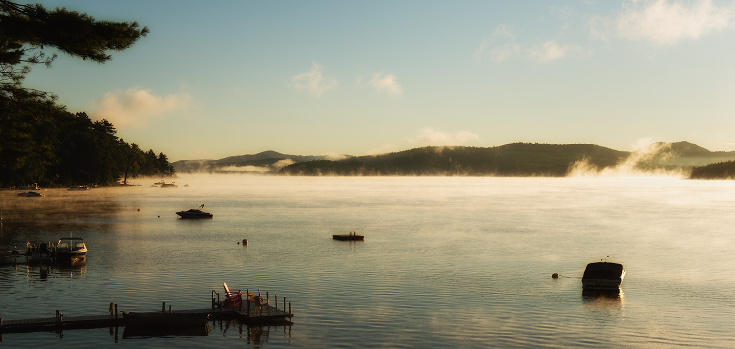 Morning on Schroon Lake