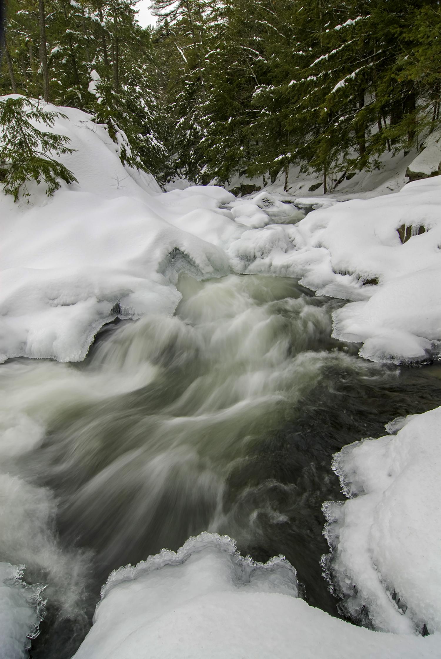 Snow Stream, Lake George