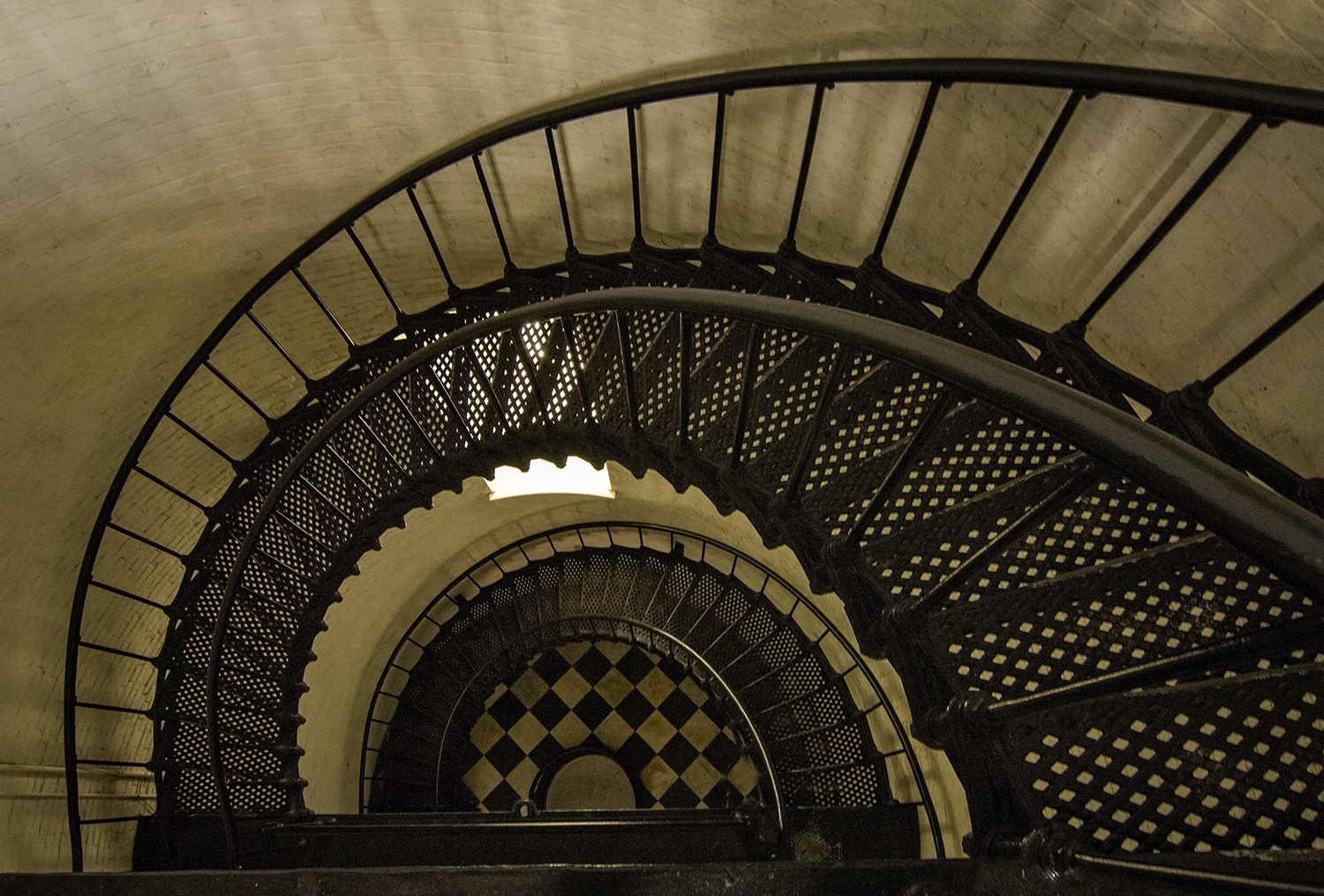 Staircase, St. Augustine Light