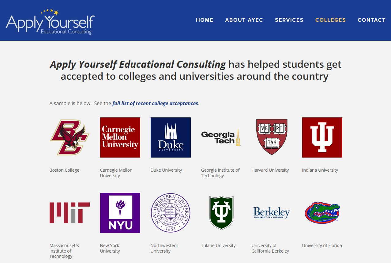 Apply Yourself college overview