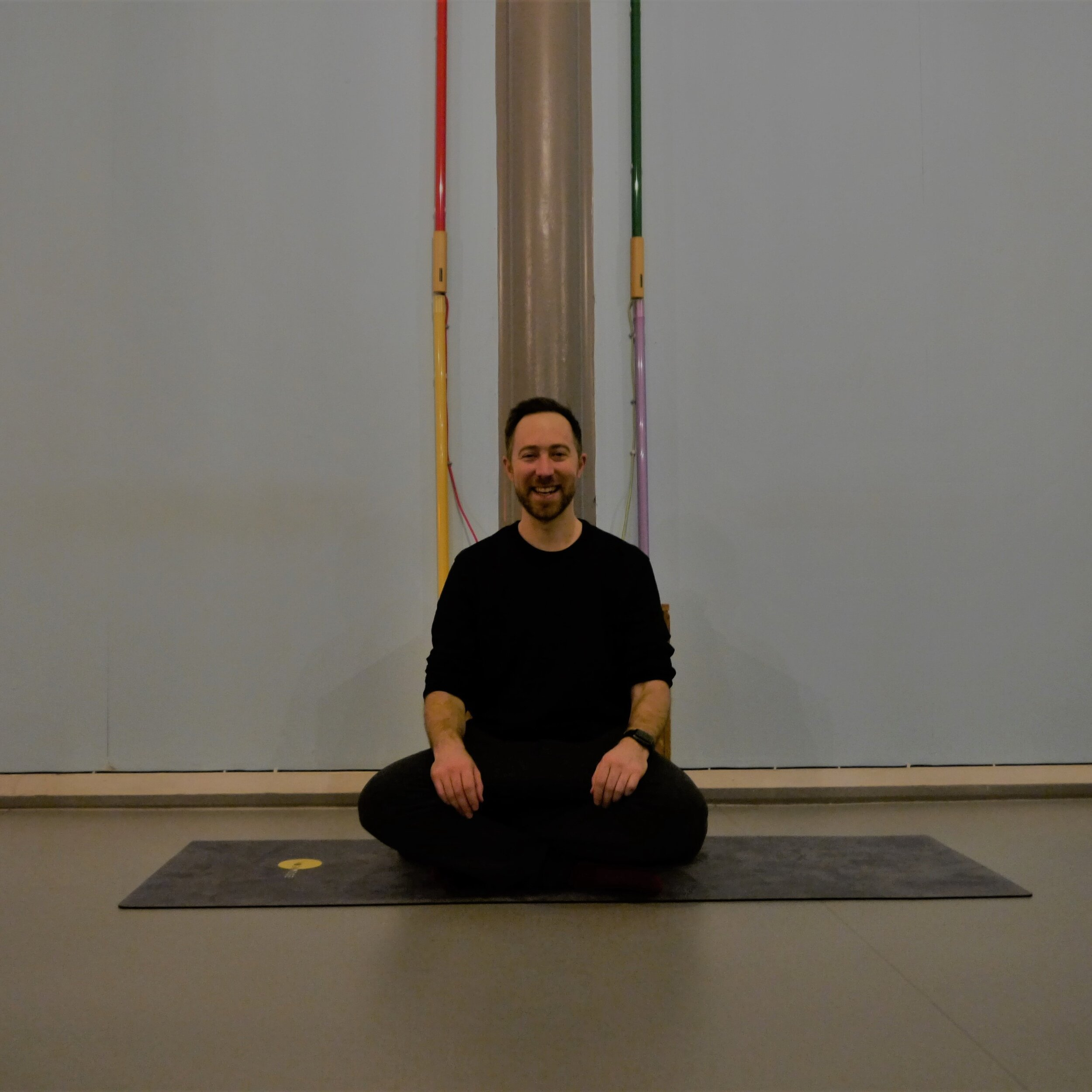 De-stress Digital visits Levitate Meditation to see Ryan Nell teaching in Peckham (photo by Lenore Setti)