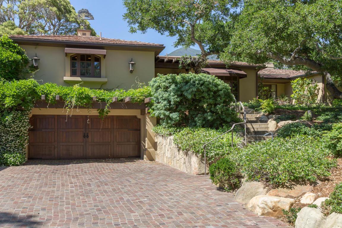 Petersen Residence, Montecito, California - REMODEL IN THE MONTECITO STYLE