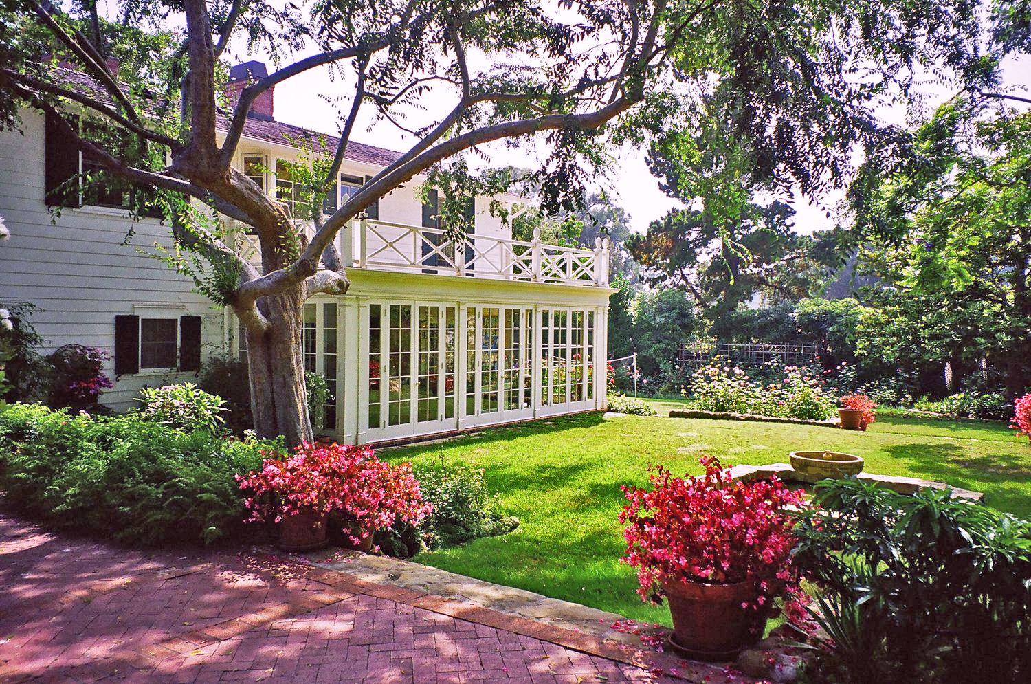 Remodel & AdditionGilson ResidenceMontecito, California - A HOME IN THE AMERICAN COLONIAL REVIVAL STYLE BUILT CIRCA 1930