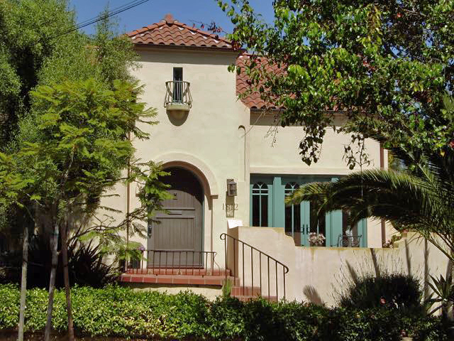 Urschel ResidenceSanta Barbara, California - A DESIGNATED STRUCTURE OF MERIT IN THE MISSION REVIVAL/SPANISH COLONIAL STYLE BUILT CIRCA 1930