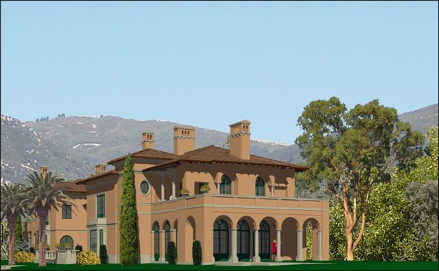Harcourt ResidenceIsola Bella - PROPOSED REMODEL IN THE ITALIAN STYLE