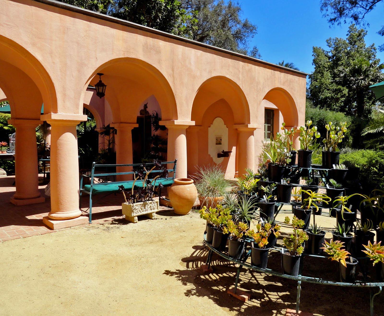 Lotusland Visitors Center, Montecito, California - VISITORS CENTER FOR THE LOTUSLAND BOTANIC GARDEN