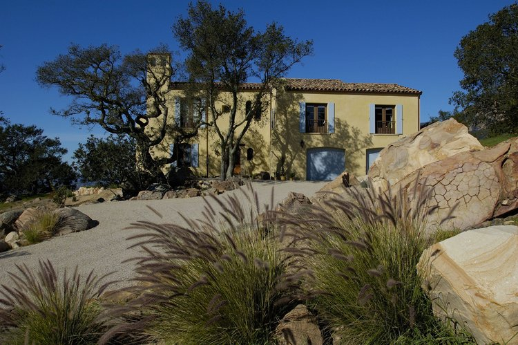 Hartwick Residence, Santa Barbara, California - A RESIDENCE IN THE FRENCH/PROVENCAL STYLE