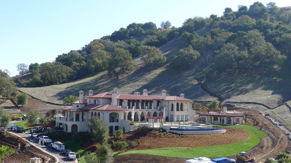 Residence, San Martin, California - A RESIDENCE IN THE SANTA BARBARA MEDITERRANEAN STYLE