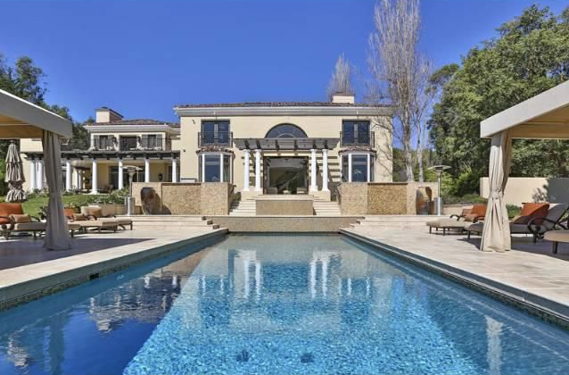 Iovine Residence, Malibu, Calfironia - A RESIDENCE IN THE NEO-CLASSICAL/AMERICAN PALLADIAN STYLE