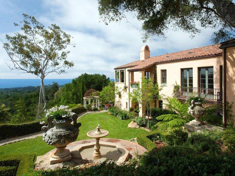 Restoration, Remodel & Addition to Ca di Sopra, Rovsek Residence, Montecito, California - A CLASSIC ITALIAN VILLA ORIGINALLY DESIGNED BY THE ARCHITECT GUY LOWELL IN 1914