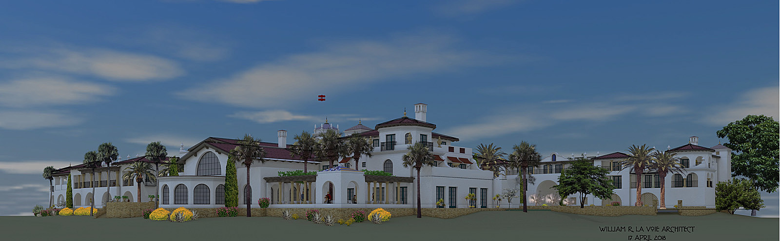 The proposed hotel for the Santa Barbara Waterfront 2018 -