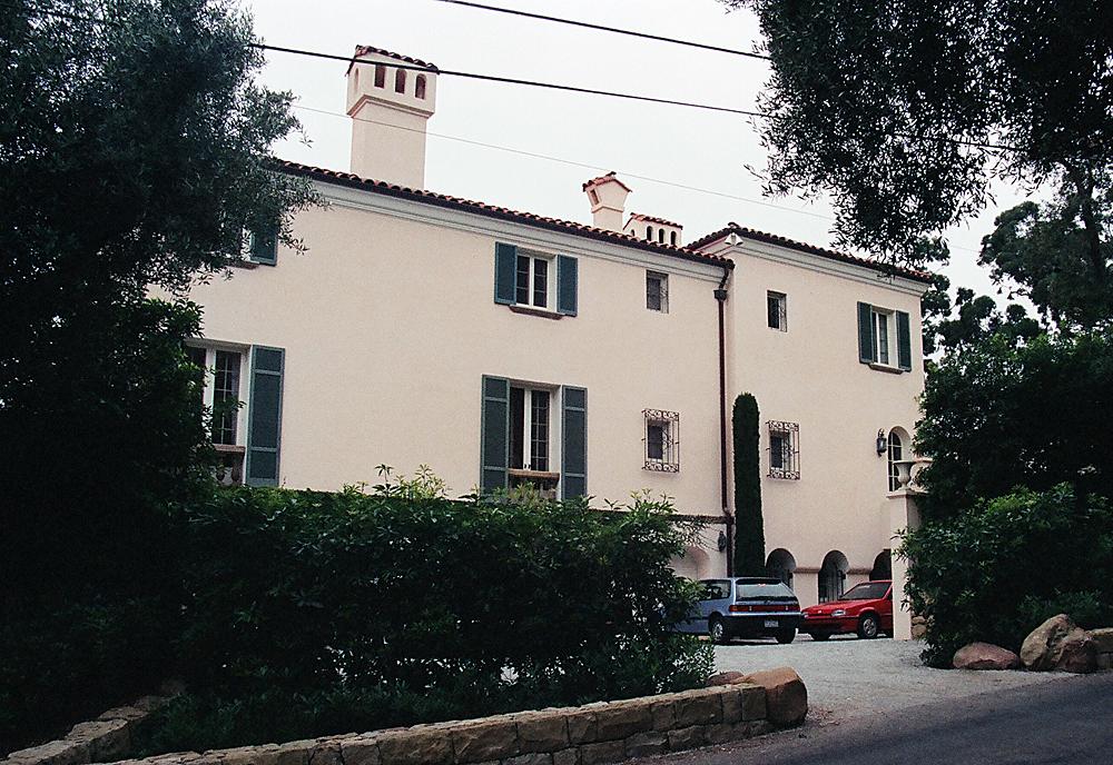 Addition to Il Brolino, originally designed by G.W. Smith, Montecito, California