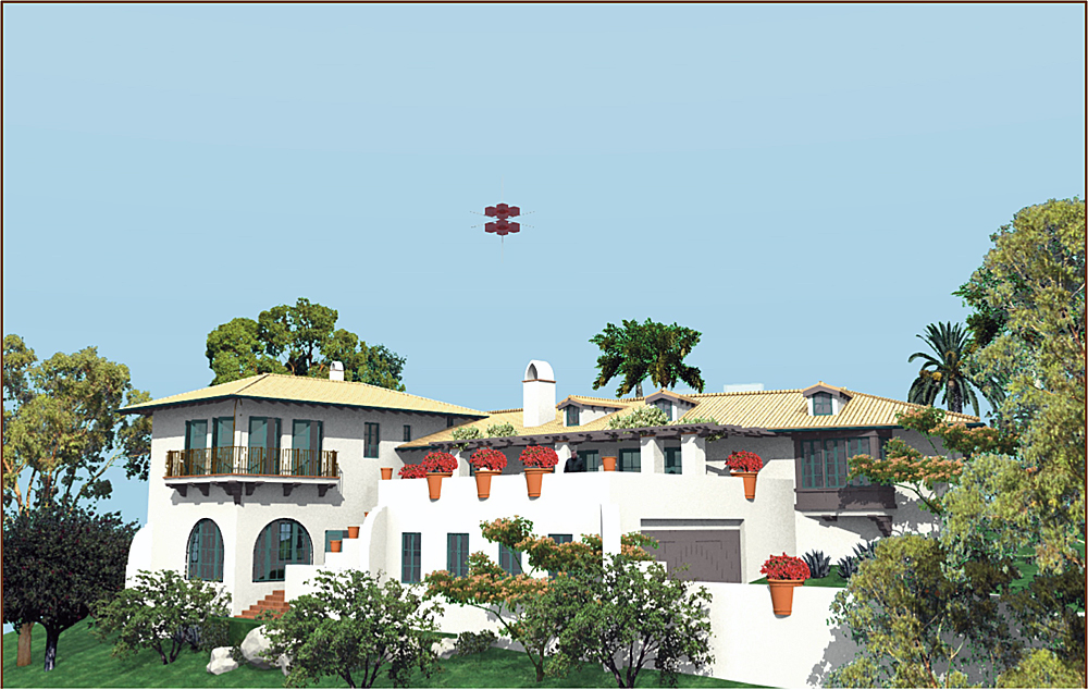 Proposed Addition & Remodel in the Santa Barbara Hispanic Style, in the Mesa neighborhood, Santa Barbara, California