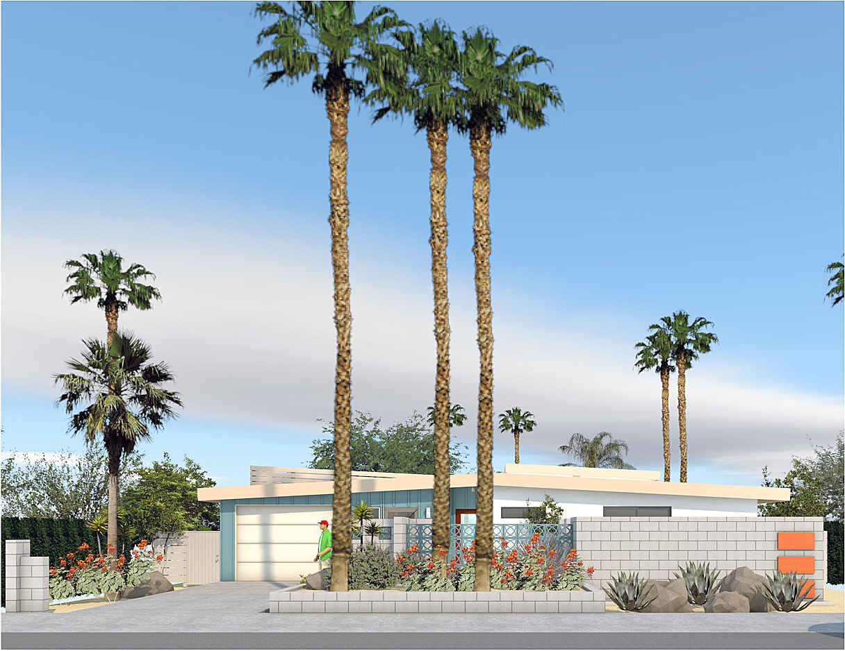 Mid Century Addition  Palm Springs -