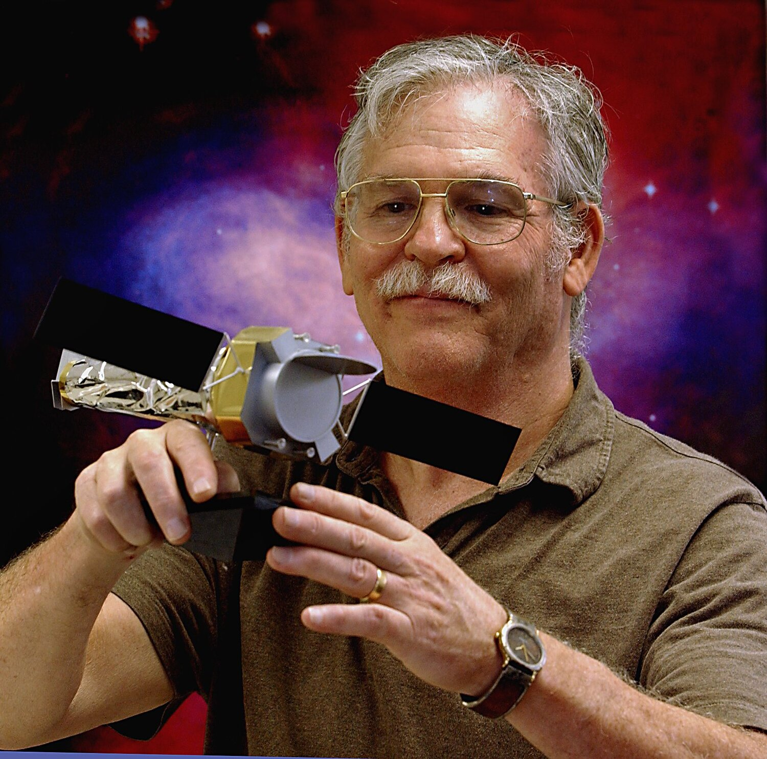 Dr. Martin Weisskopf,  Chandra X-ray Observatory  Project Scientist