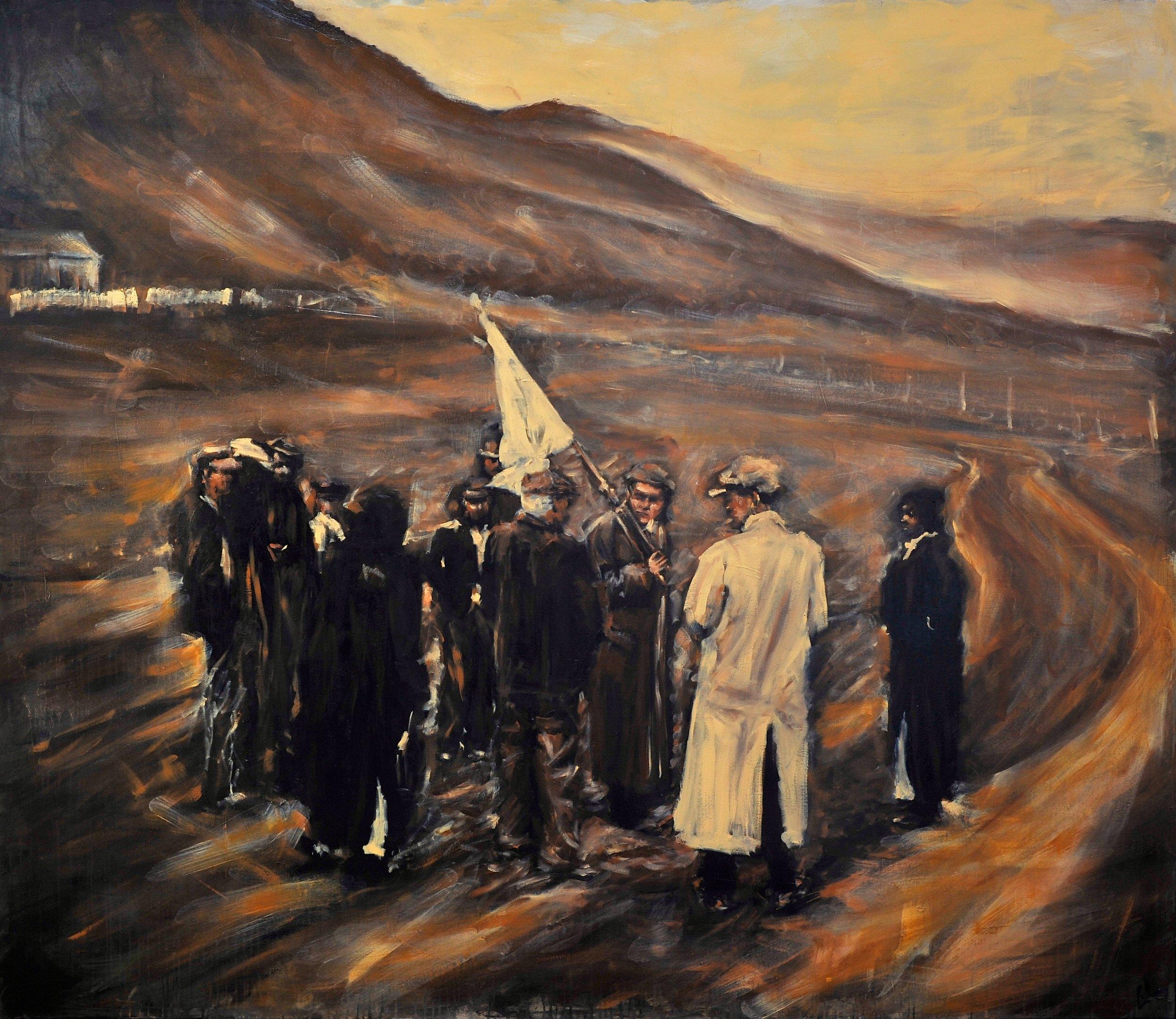 Raising the white flag for safe passage
