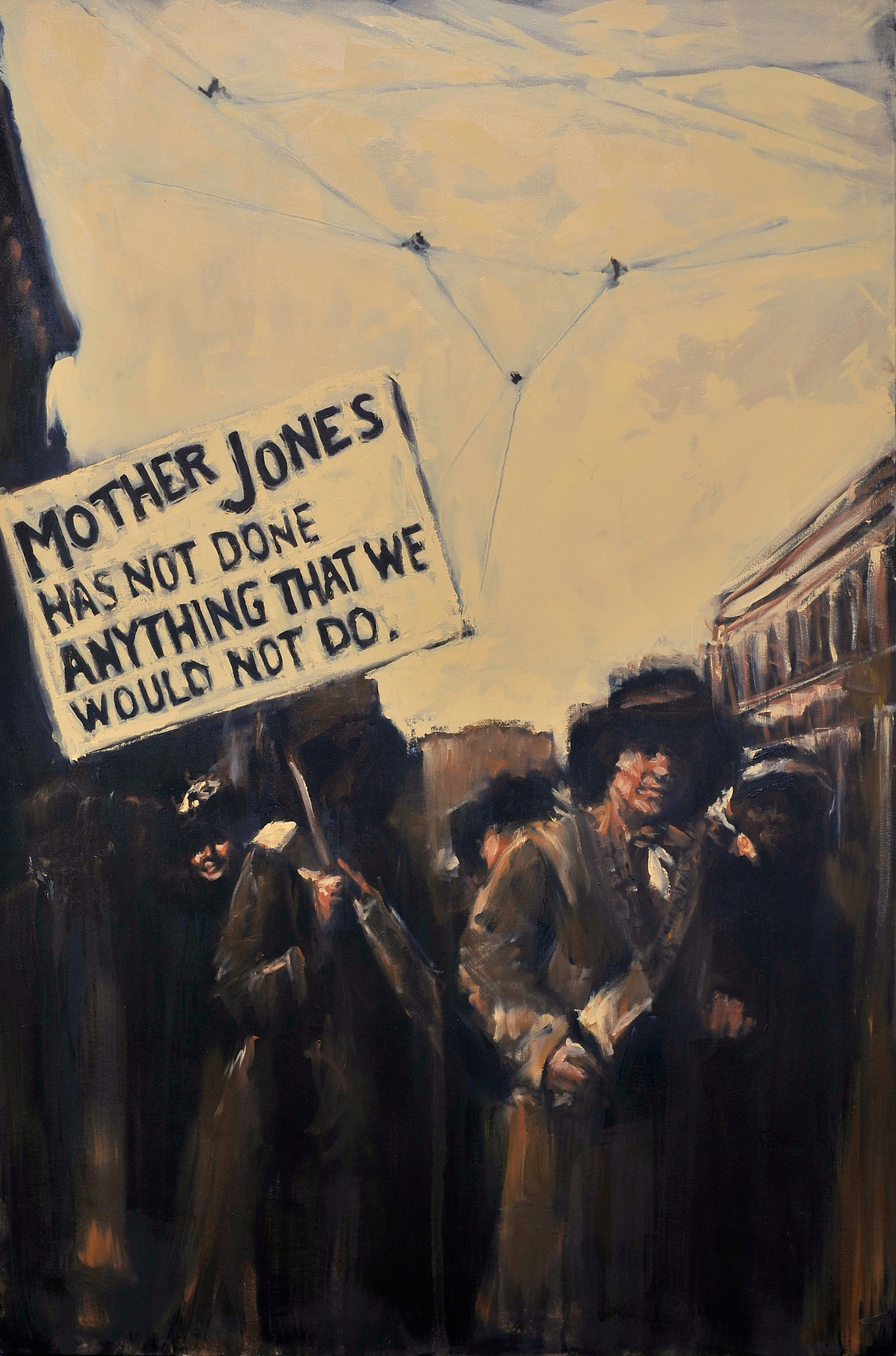 Mother Jones has not done anything we would not do