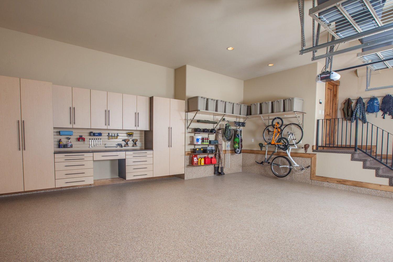 Neat Garage Storage Systems And Flooring Garage Storage Systems