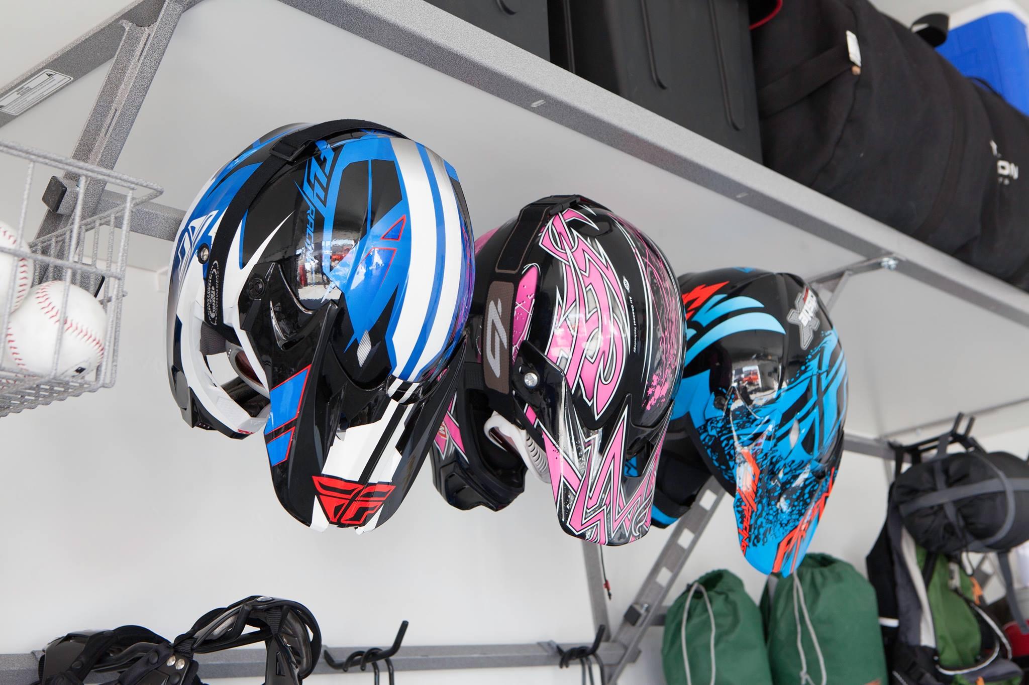 bicycle helmets on rack.jpg