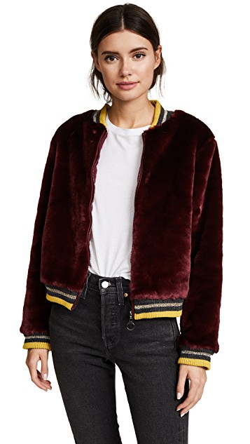 BARBER Donica Bomber Jacket (orig. $288) NOW $144