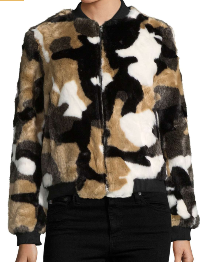 BAGATELLE Faux Fur Bomber Jacket (orig. $279) NOW $135