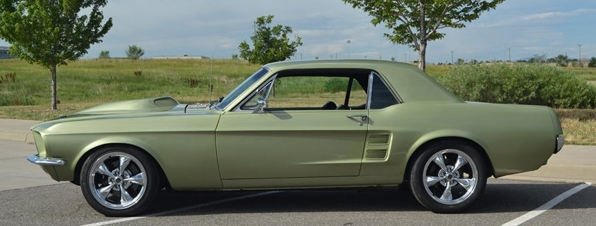 1967 Mustang - 1967 Mustang Coupe Pro-Touring Full Build