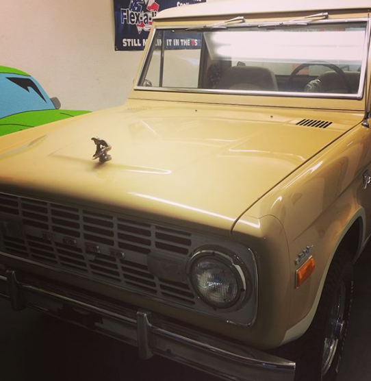 Donkey Kong - The 1971 Ford Bronco came in as a running, fully built car from about 20 years ago. This will be one of the most built, custom Broncos in the world when we are done with the project.