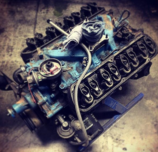 Take it Apart - The Bronco starts coming apart. Every nut and bolt will be removed to build this one of a kind 4x4.