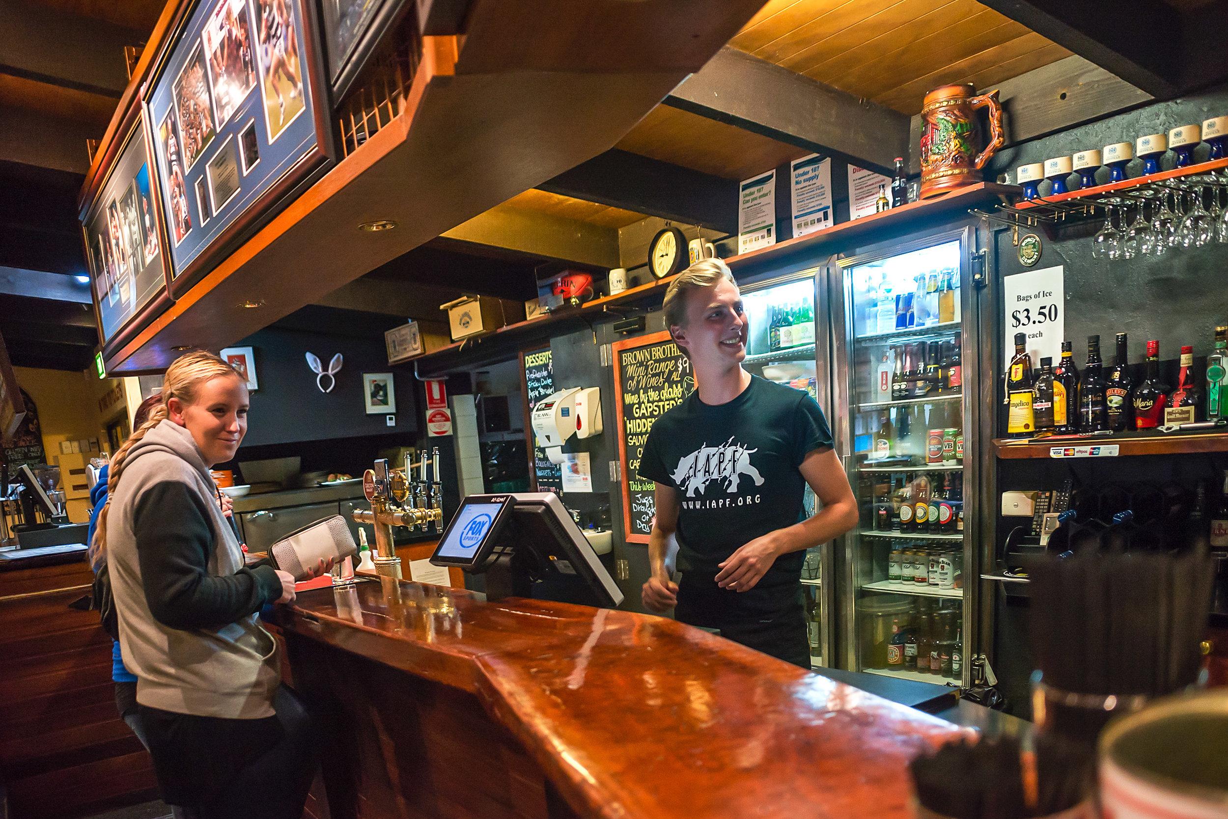 Harrietville Hotel Bar