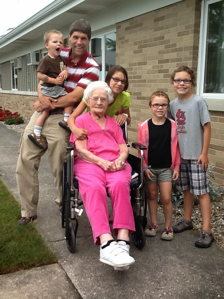 Grandma Gigi and my tribe – We miss her and can't wait to see her smiling face again in heaven!