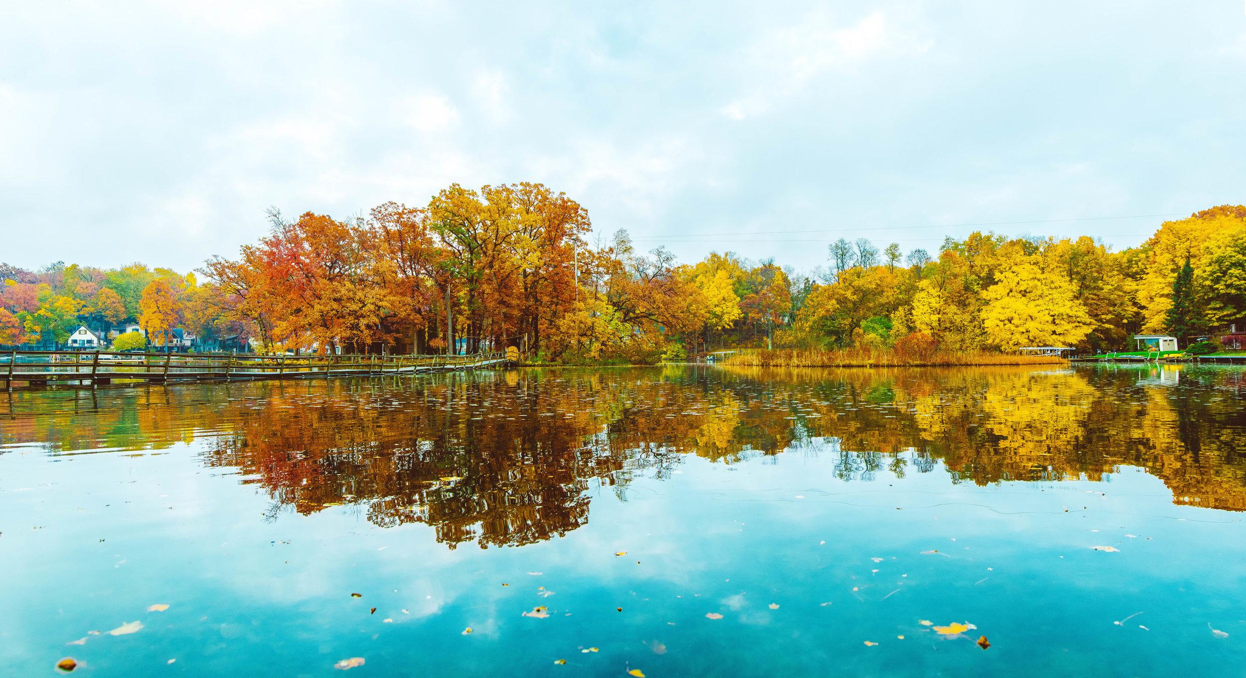 Gull Lake Fall