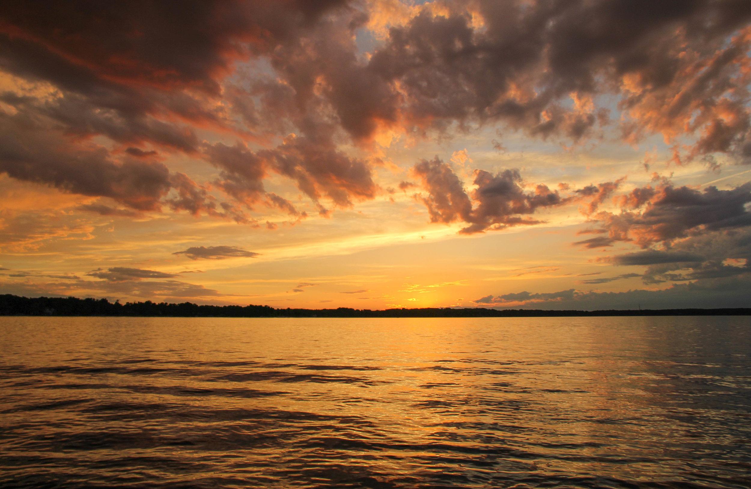 Gull Lake Sunset