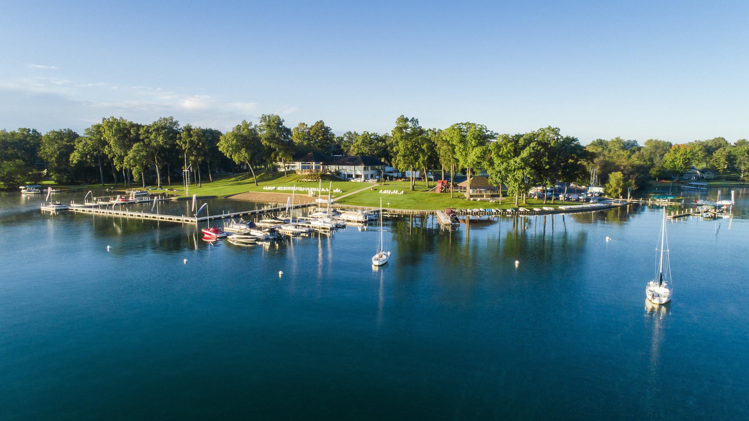 Gull Lake Country Club Drone