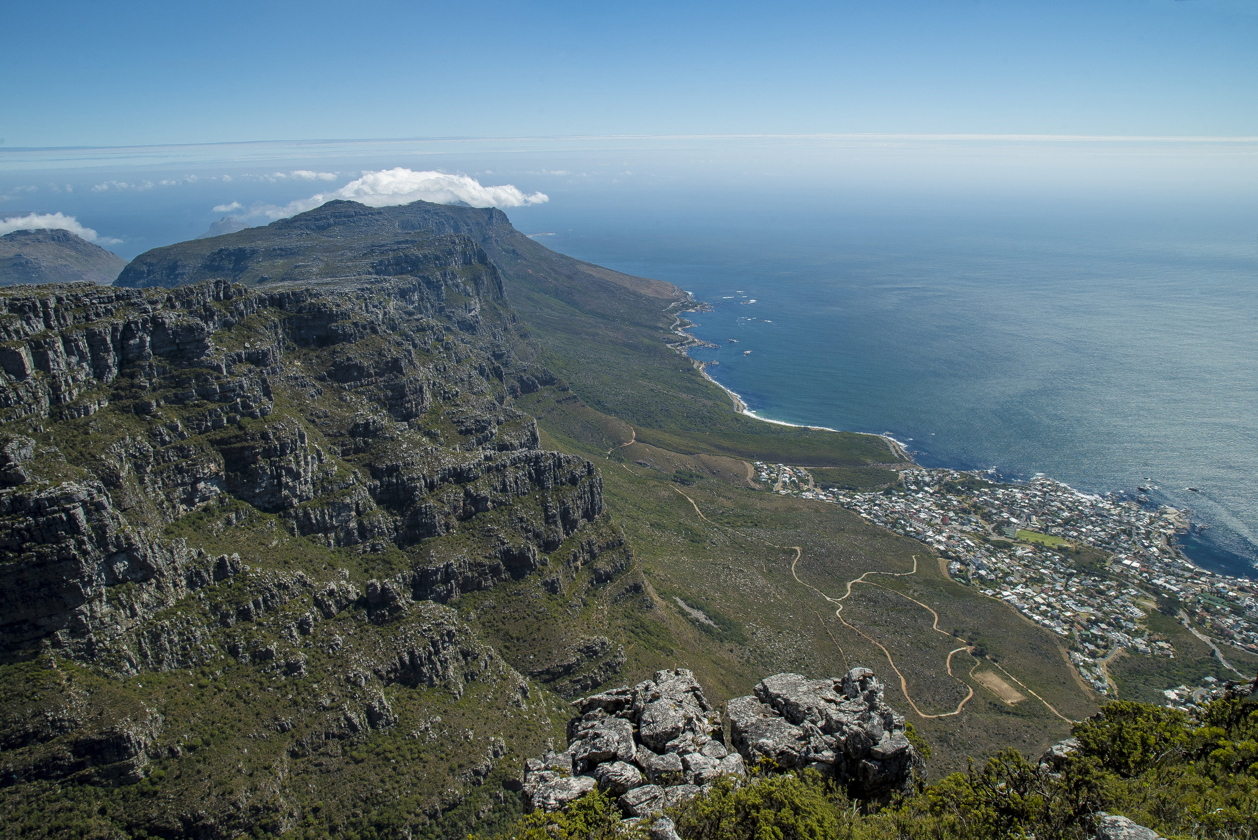 Cape Town Shot From Above