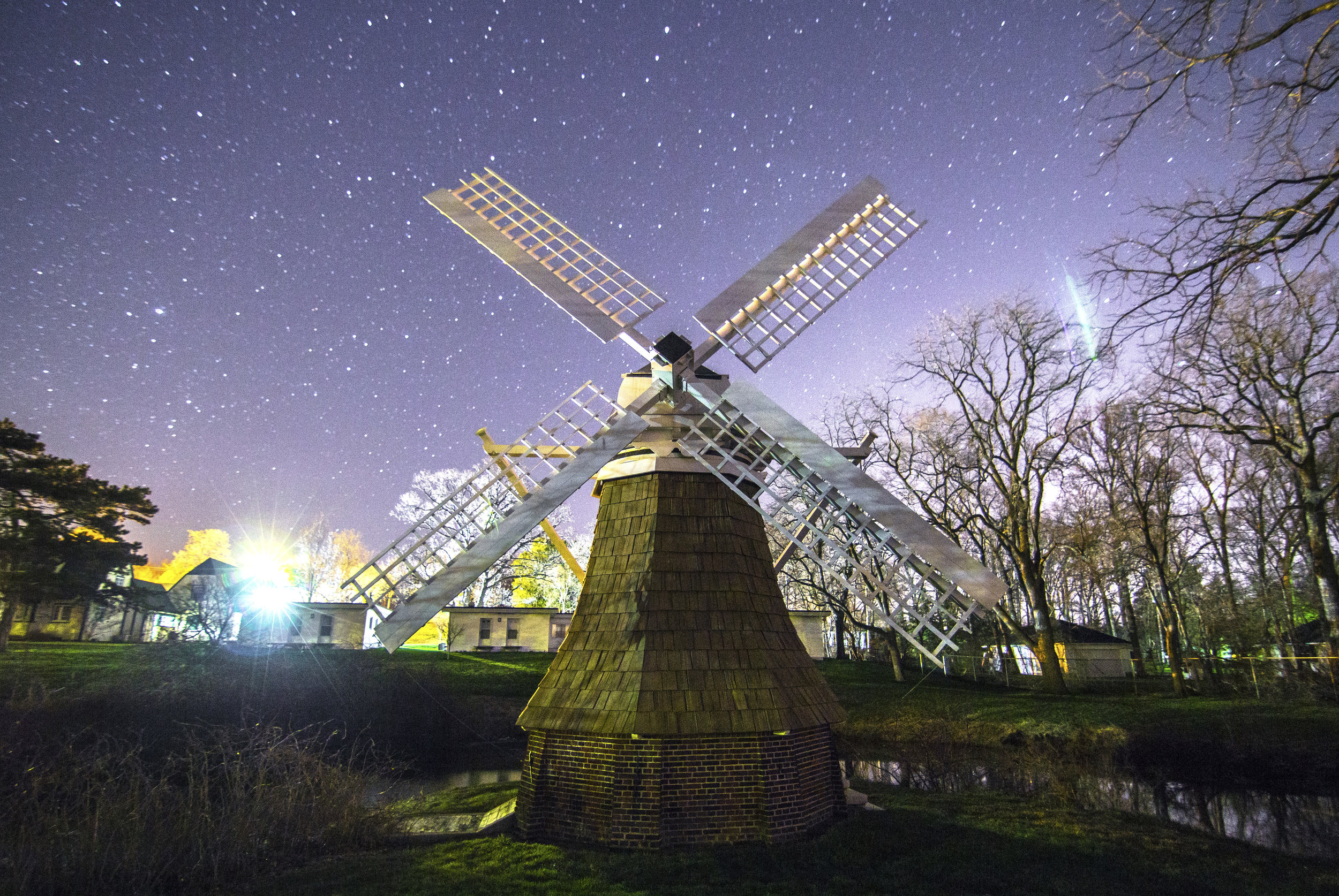 Astrophotography Windmill