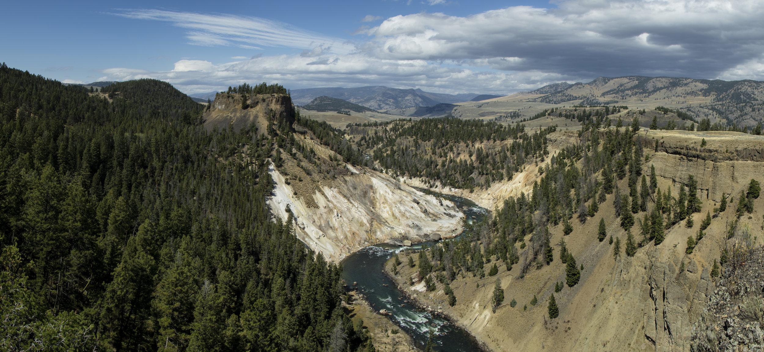 Montana Mountain Landscape