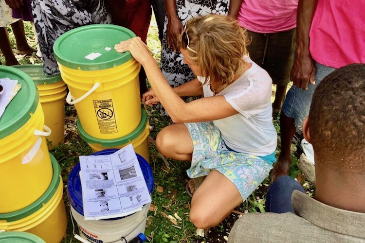 CLEAN WATER - Providing clean water to neighborhoods and villages.