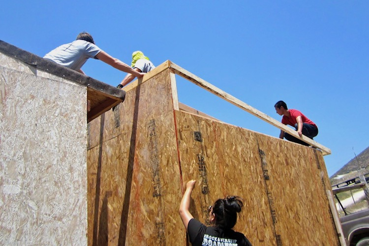 HOUSEBUILDING - Building shelters and providing basic construction needs for those who don't have adequate housing or materials in and around the rural areas of Tijuana, MX.