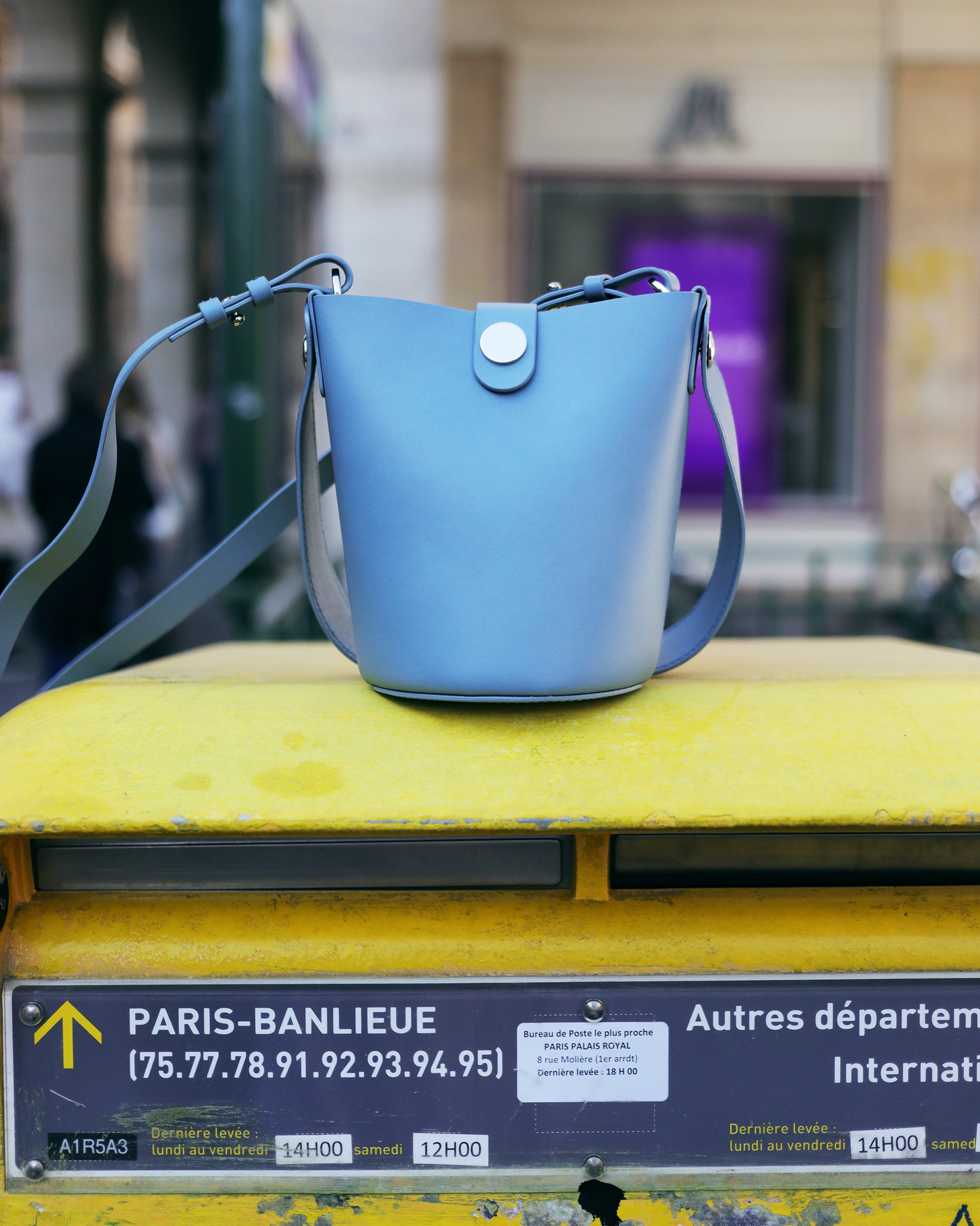 Paris Banlieue fashion handbag