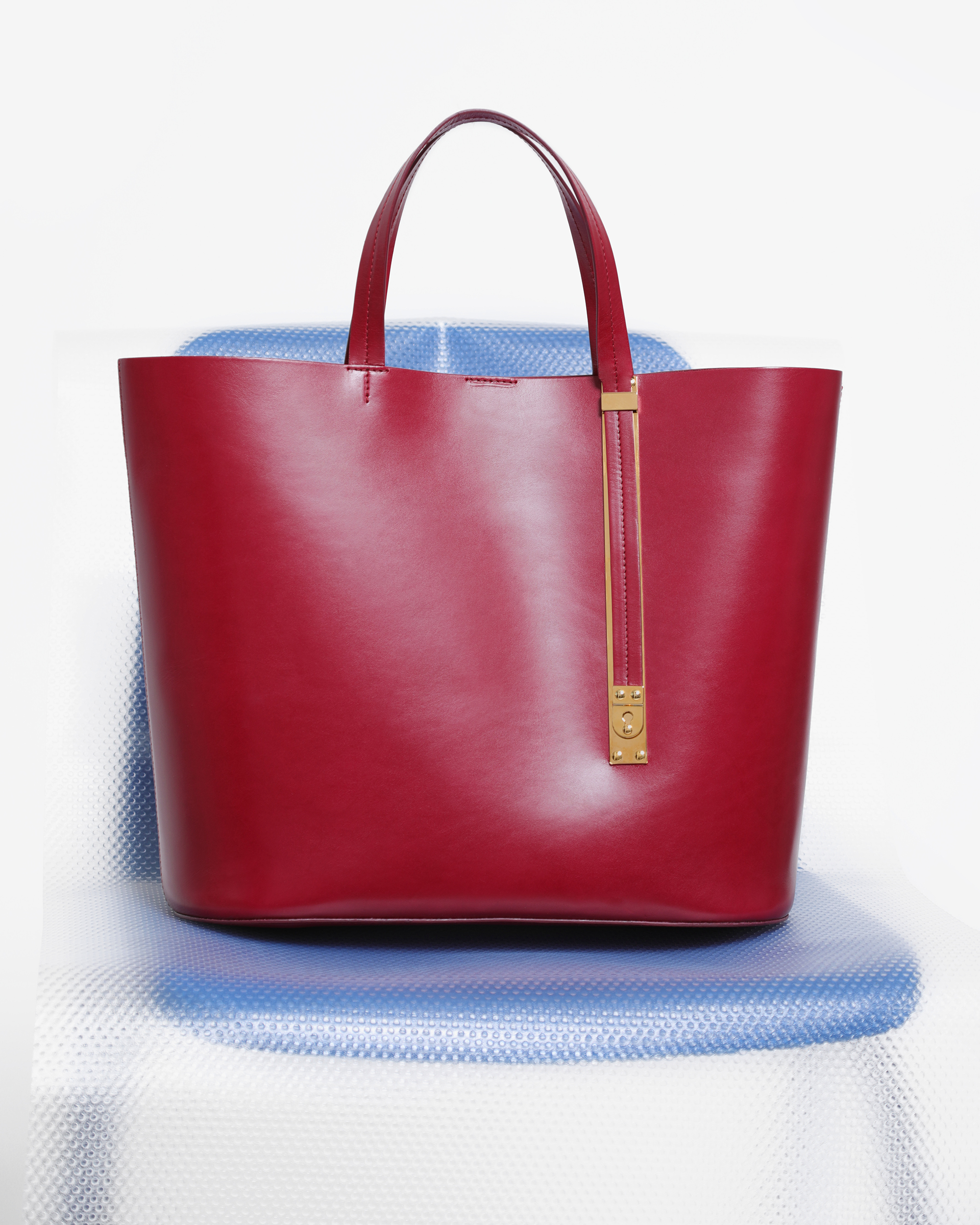 Raspberry handbag