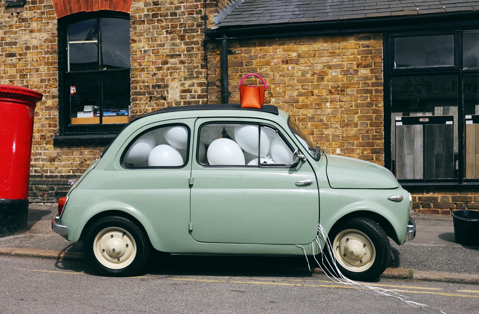 Cars fashion shoot