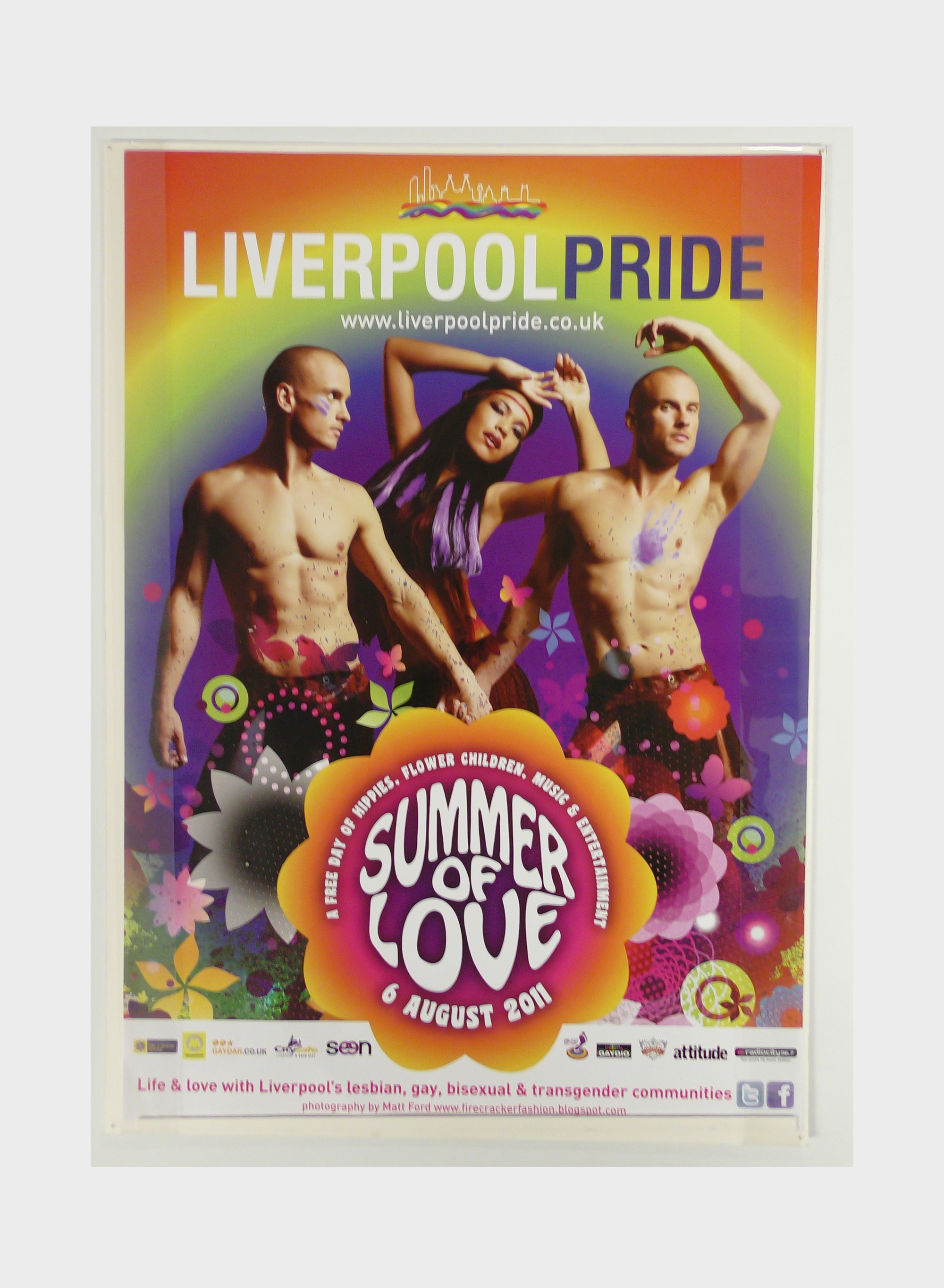 Liverpool Pride poster