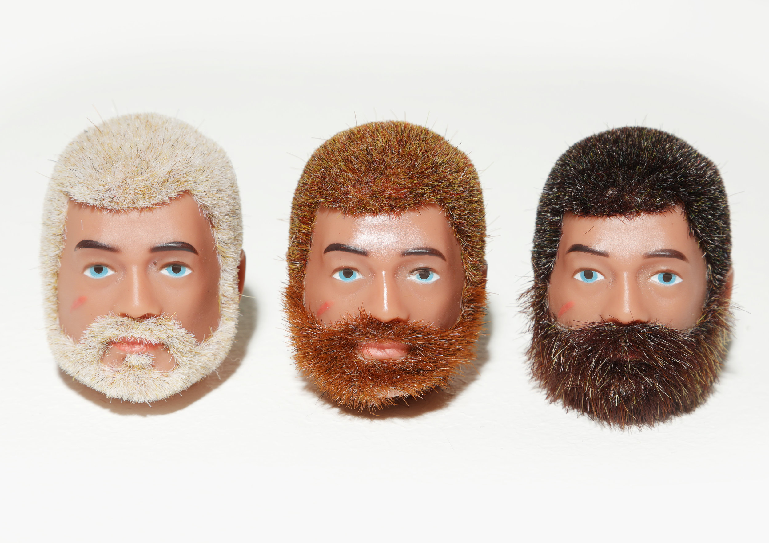 Vintage Action men heads