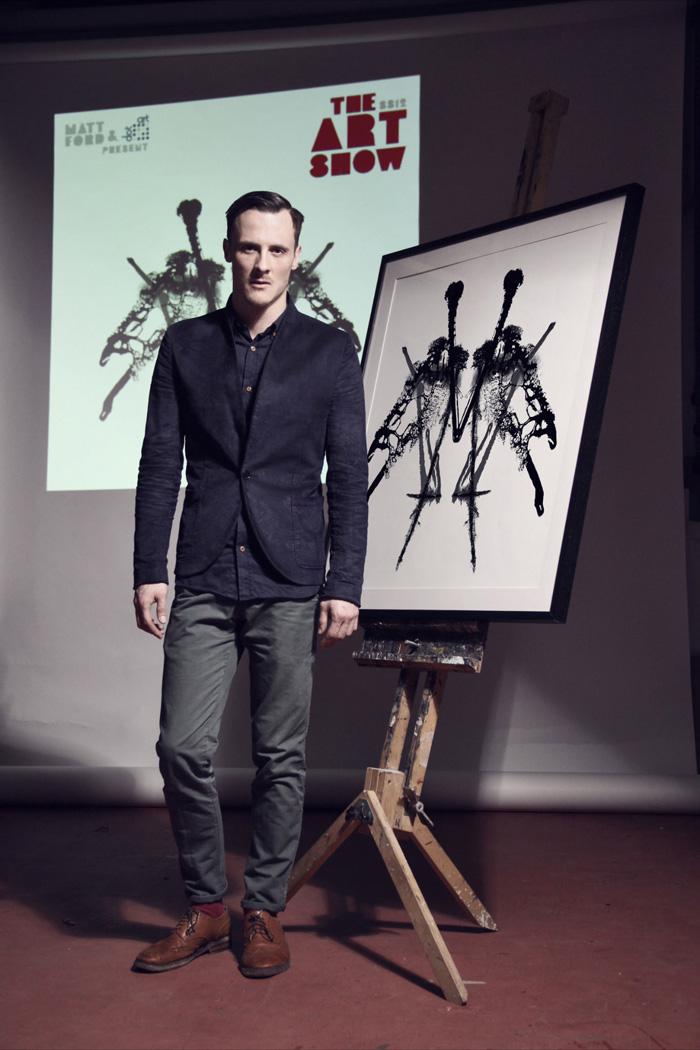 Matt ford artwork bruise in black