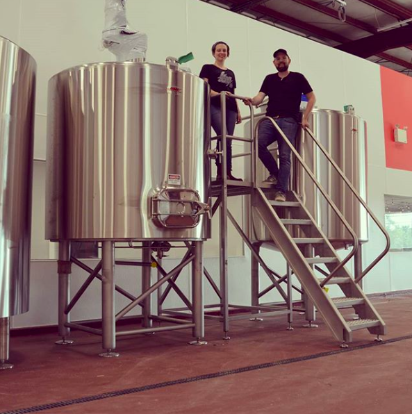 - Brewhouse views. Our brewhouse from@dmebrewinghas arrived and we're so, so excited to finally have it at the brewery. Still a whole bunch of piping to do over the next month but we're getting closer to having beer for all of you fine folks!
