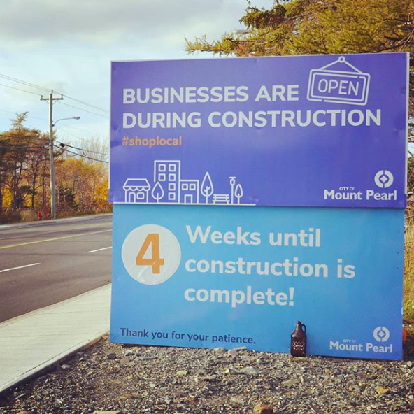 - Thank you for your patience! Not only is the construction on Commonwealth Avenue by the @cityofmountpearl almost done, but, as luck would have it, our brewery construction is wrapping up around the same time. Hopefully the next time @SeanPantingwrites a song for @sjmorningshow#PantingUnderPressure about Commonwealth it's about how nice it is to drive down the finished avenue to grab a growler (or cans!) or how smooth the cab ride is from our taproom after a night of enjoying some beers. Keep an eye on the construction sign: when its countdown ends, ours will be close behind... baring any delays, of course!
