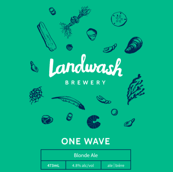 One   Wave   Blonde Ale (4.8% alc/vol)  Our go-to beer after a long brew day,  One Wave  uses our favourite Old World hops – Czech Saaz and French Strisselspalt – to create light citrus and spice notes that make for an easy drinking but flavourful blonde ale.   Taproom/Growlers